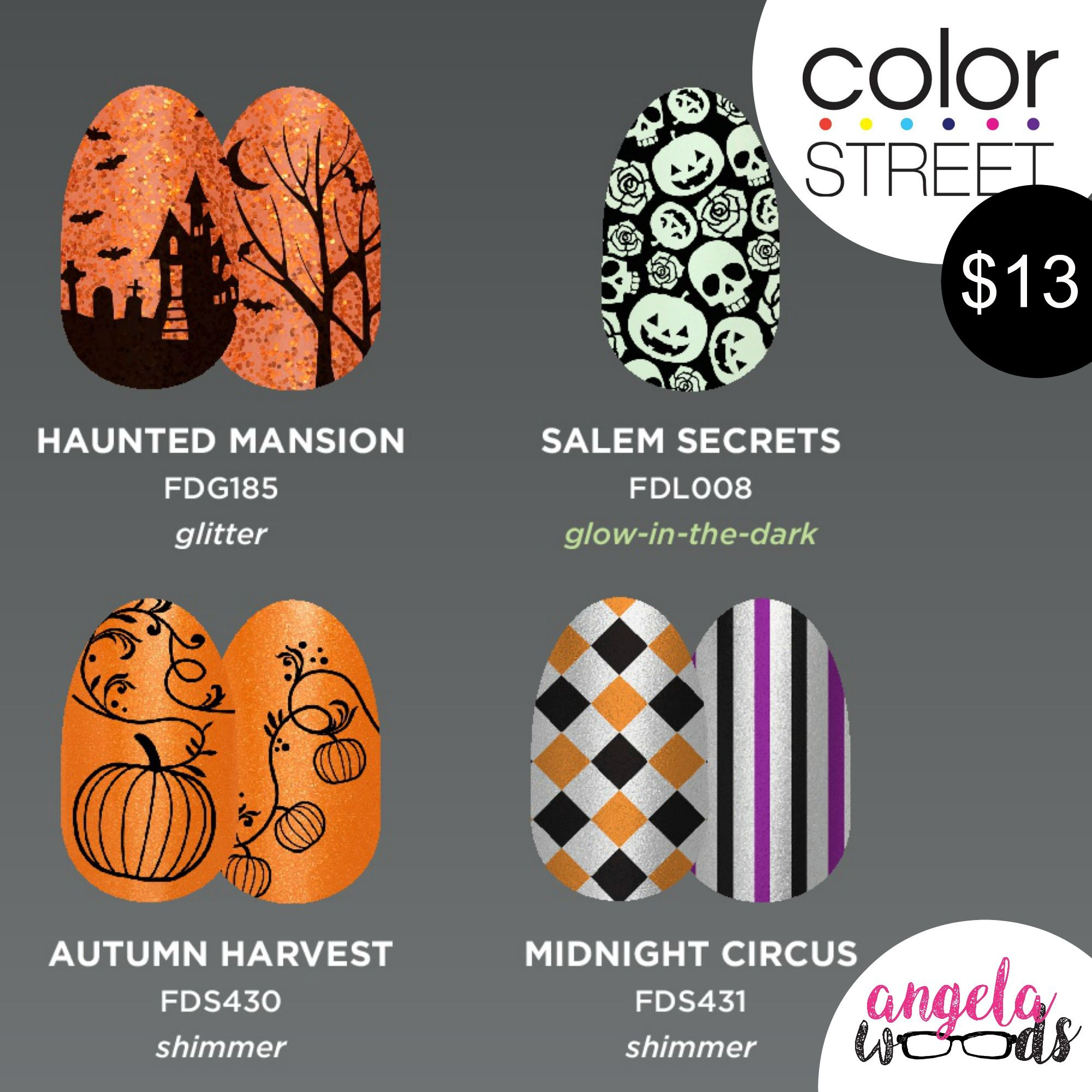 Color Street Is Releasing Their Halloween Nail Strips On Sept 6 I Ll Be Stalking The Website So You Don T Hav Halloween Nails Color Street Color Street Nails
