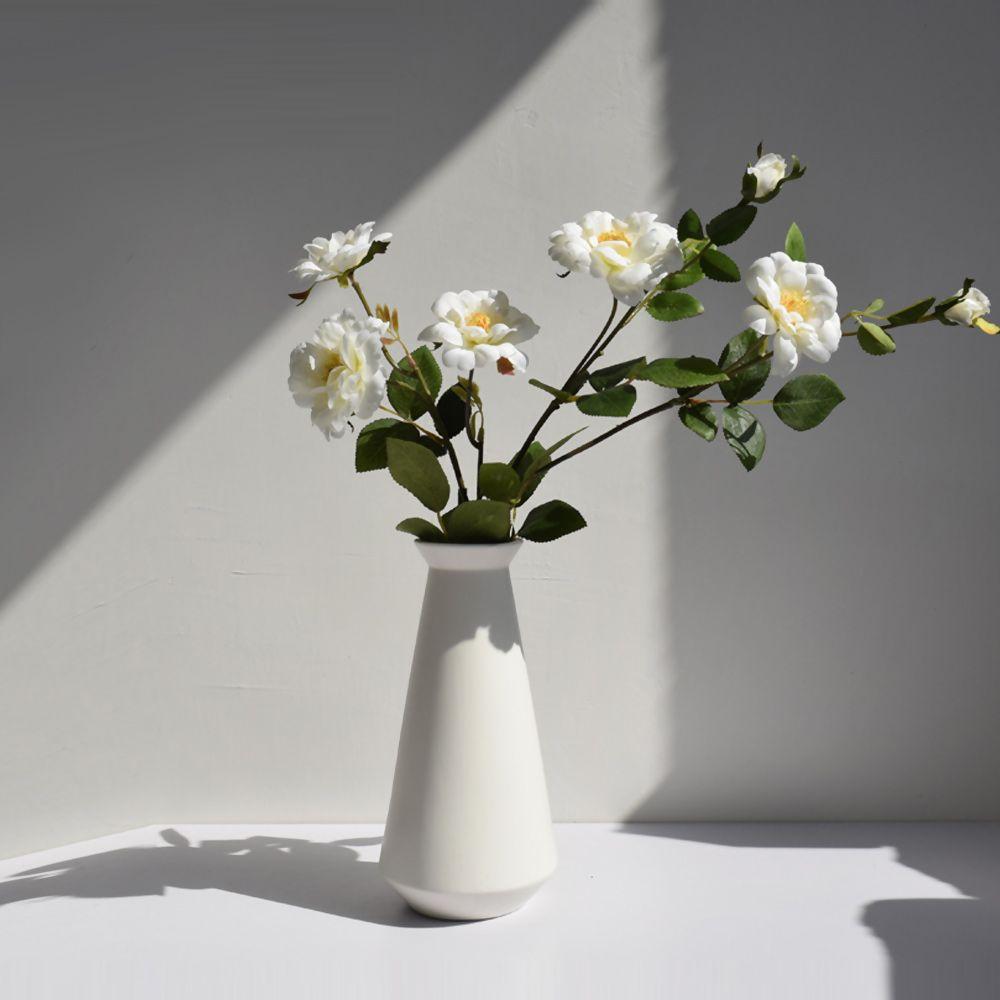 Modern Vases Modern Home Decor 100 Creamic White Vase Ceramic Vase Matte Modern Minimal Small Ceramic Vases Almost 7 9 H Modern Vase Vase Home Decor