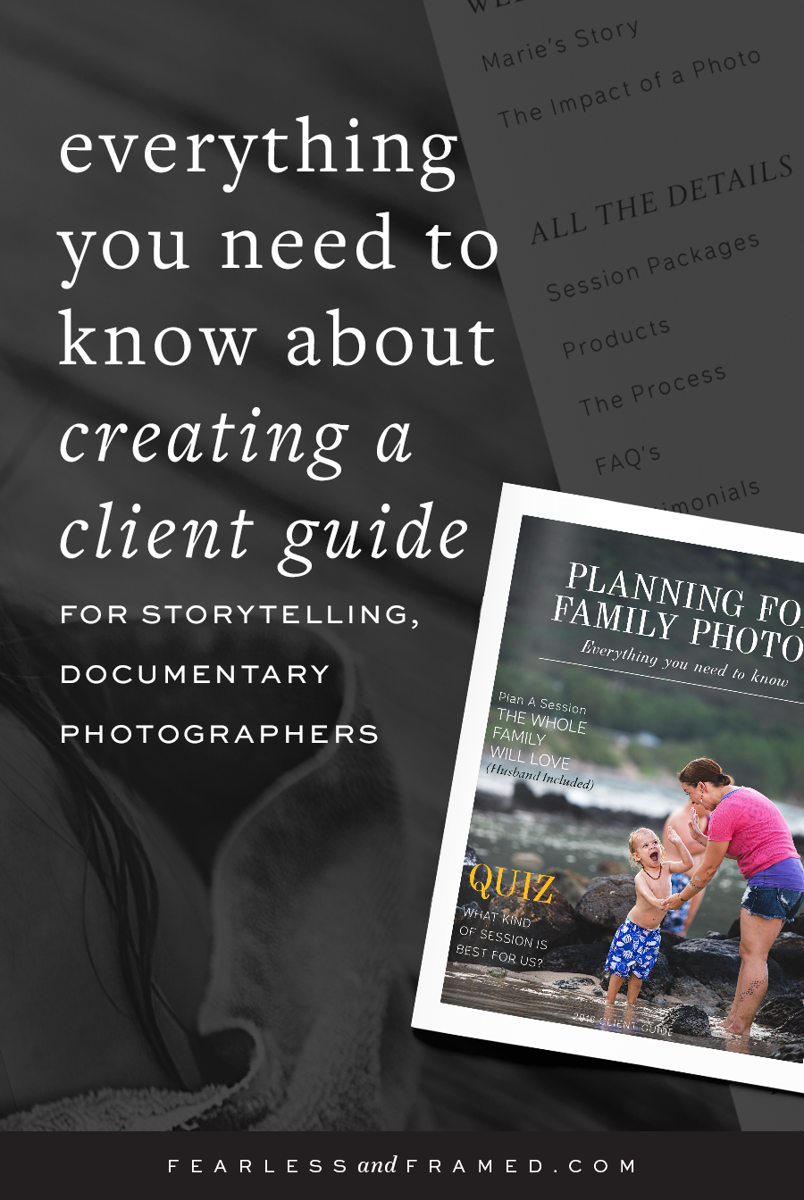 How to help portrait clients fall in