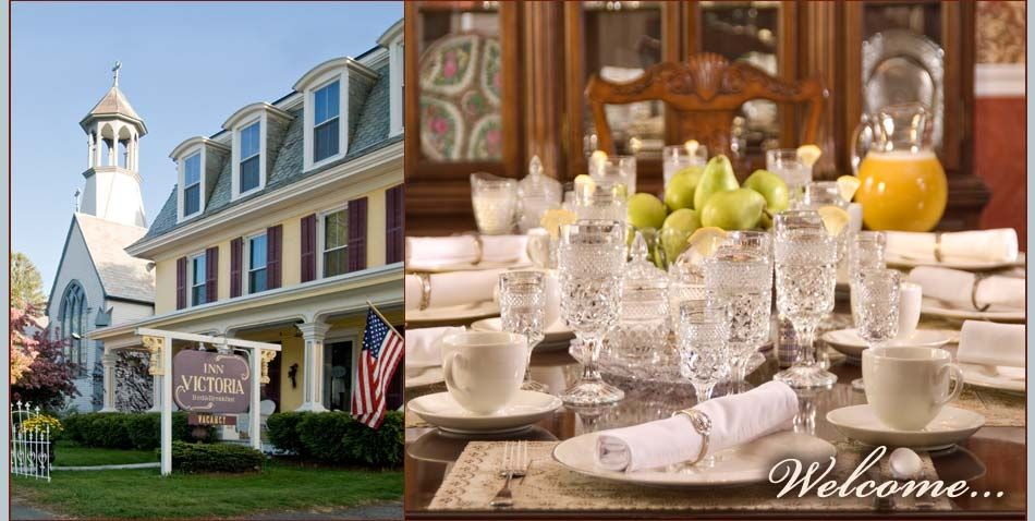 Beautiful bed and breakfast table decorations inn