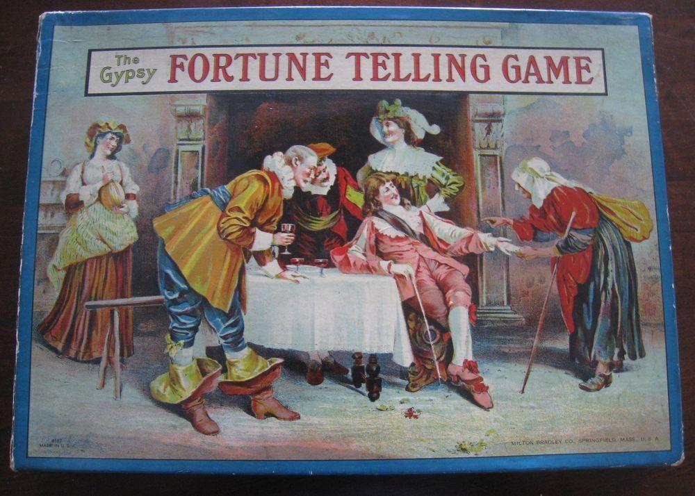 vintage gypsy fortune telling