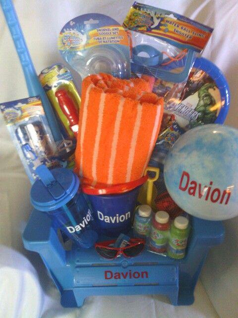 Beachpool gift basket gifts pinterest beach pool gift beachpool gift basket negle Image collections