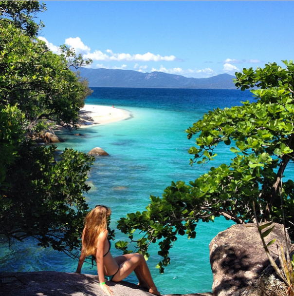 Fitzroy Island Queensland: Nudey Beach, Fitzroy Island, North Queensland