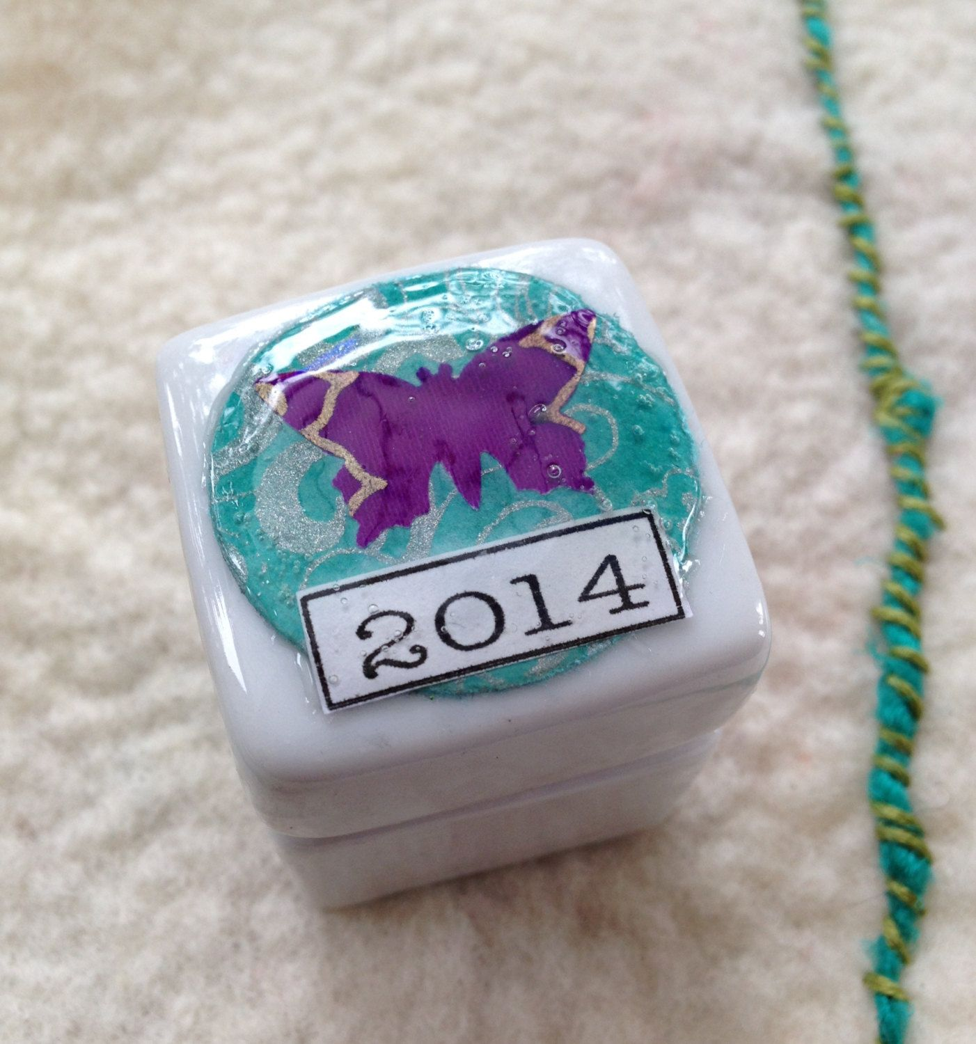 2014+Word+of+the+Year+Rock+in+A+Box+by+QueenofArtsStudio+on+Etsy,+$10.00