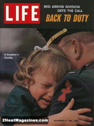 Sad Goodbyes-November 1961.