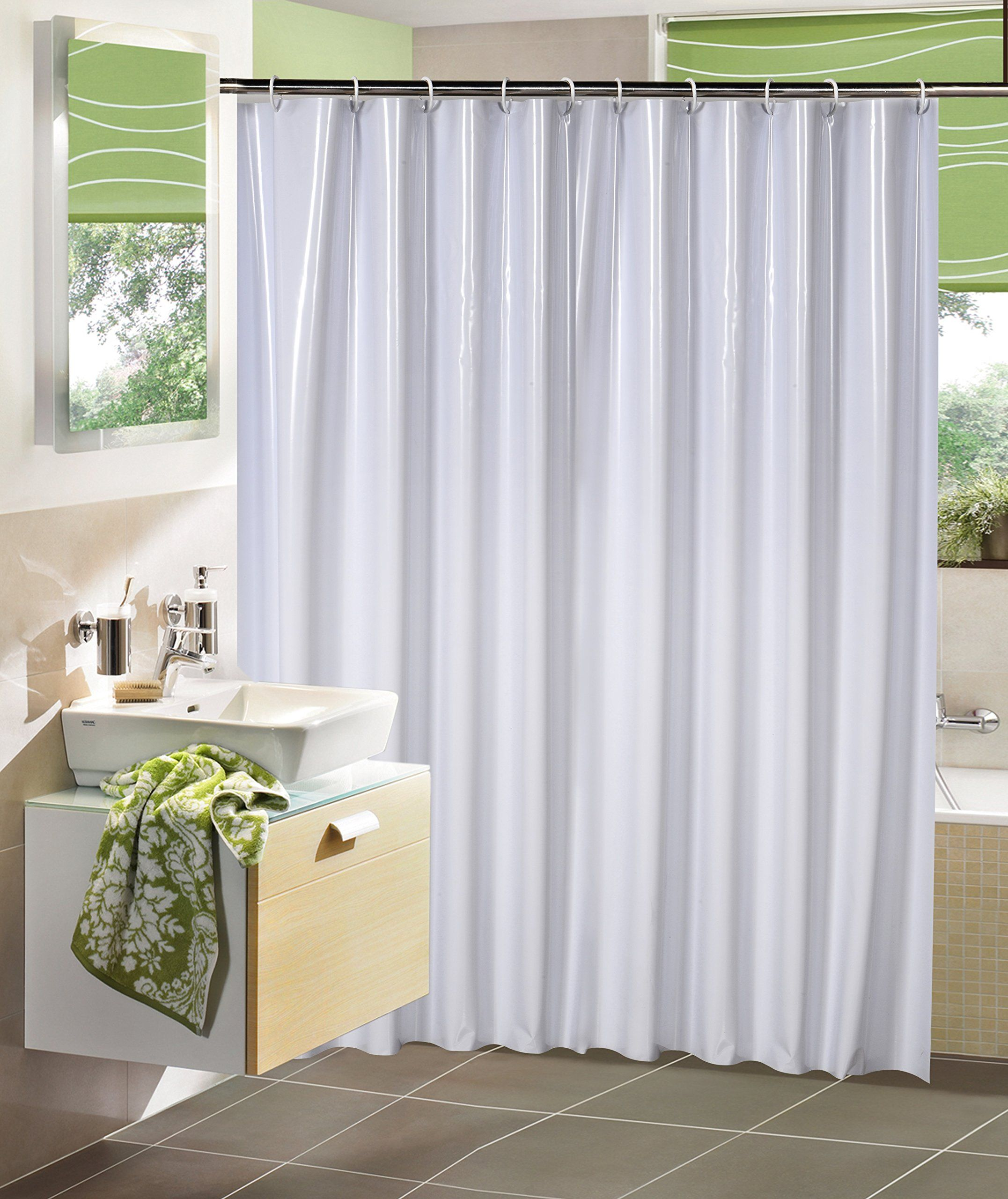 Amazon garden home shower curtain with hooks no more mildew
