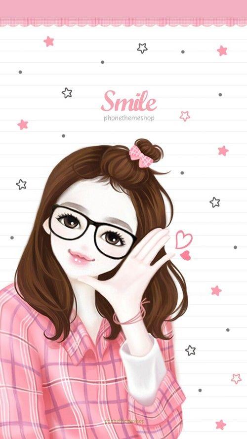 Imagen De Wallpaper Art And Background Cute Girl Wallpaper Cartoon Girl Images Illustration Girl