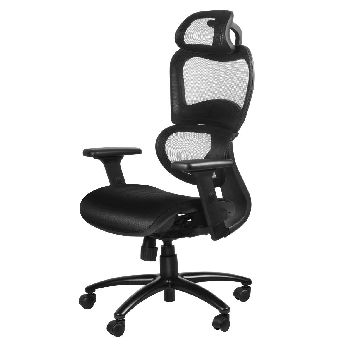 Duramont Ergonomic Office Chair With Lumbar Support High Back Executive Chair With Breathable Mesh Des In 2020 Office Chair Ergonomic Office Chair Ergonomic Office