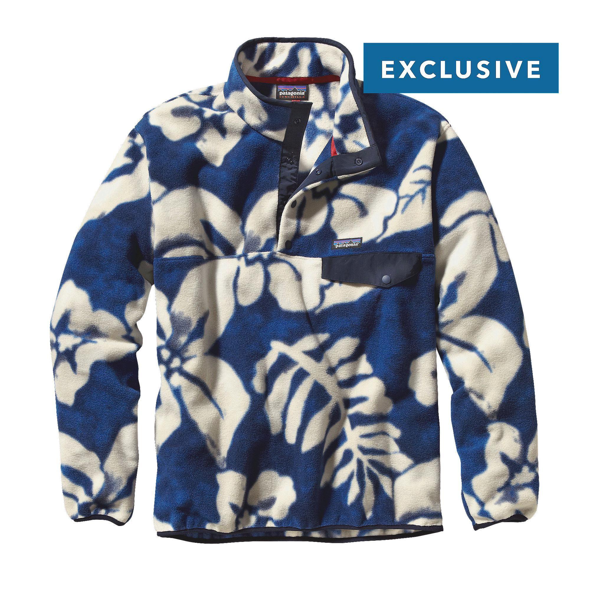 Men's Lightweight Synchilla® Snap-T® Fleece Pullover | Patagonia ...