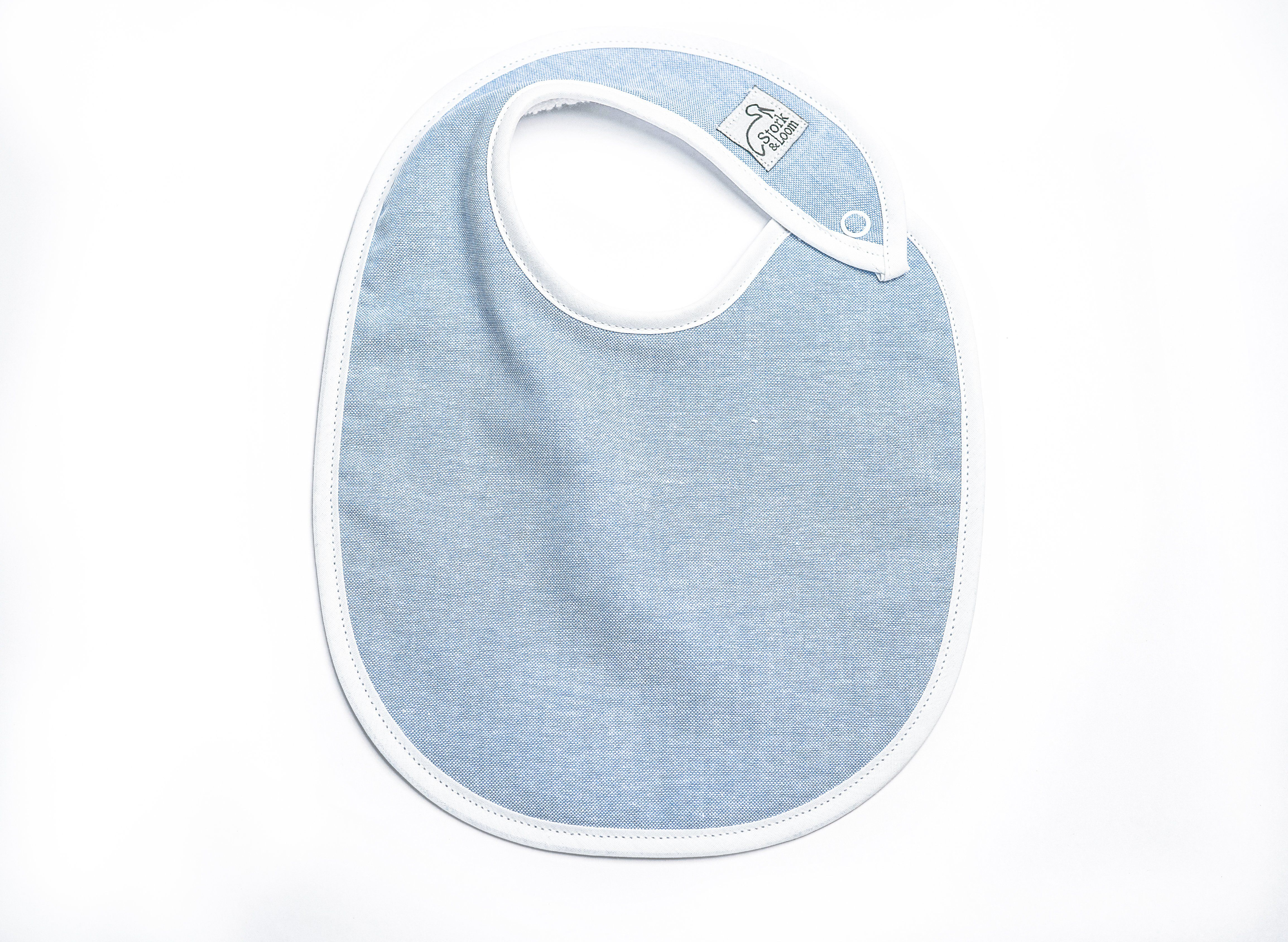 Soft and AbsorbentOur classic bibs are made with 100% soft cotton terry cloth backing making them super absorbent and comfortable for your baby. Nickel-Free SnapsOur nickel-free snaps are easy to put on and safe on your baby's skin. Velcro can scratch sensitive skin and snag on items in the wash, but our snaps are easy, safe, and stay put on a pulling baby. Stylish and ModernOur designs are cute, timeless, and modern to compliment all your baby's adorable outfits. Materials: nickel-free snaps, 1
