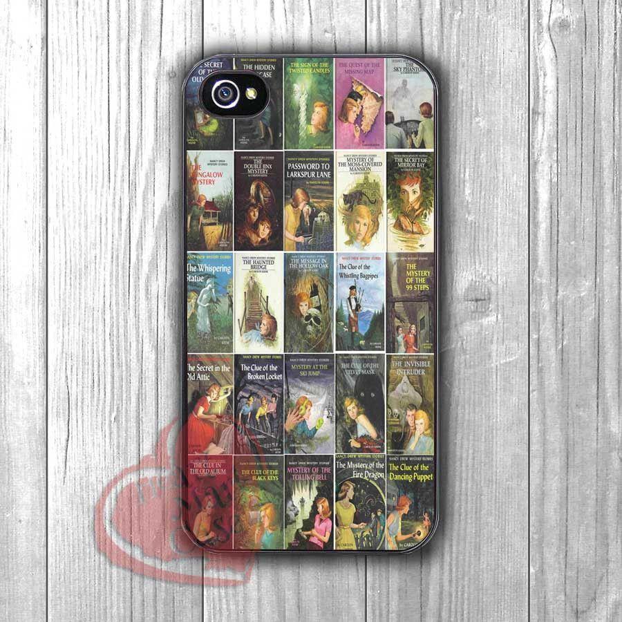 Nancy Drew Books - zfz for iPhone 6S case, iPhone 5s case, iPhone 6 case, iPhone 4S, Samsung S6 Edge