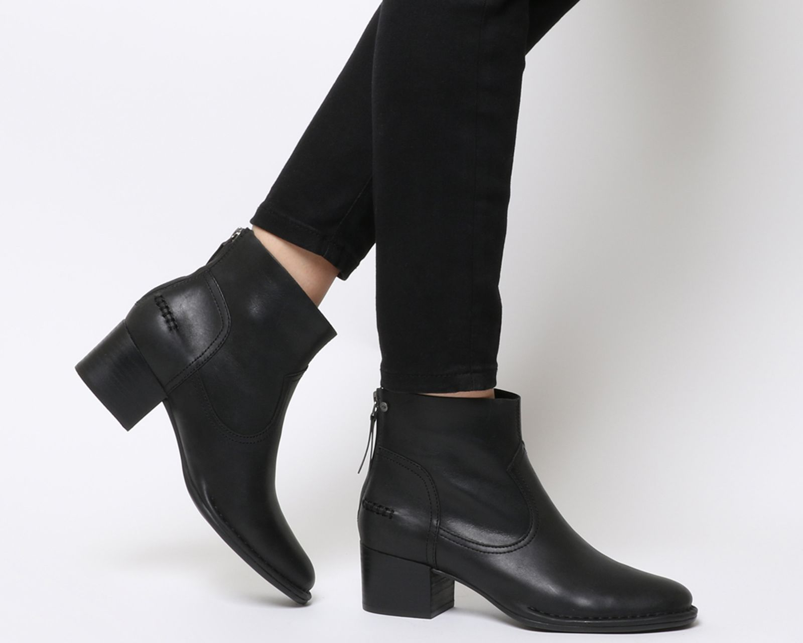 e33797b7297 Bandara Ankle Boots | Clothes | Black leather ankle boots, Boots ...