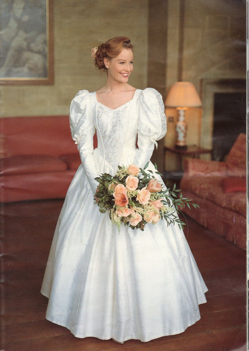 laura ashley circa 1993 bridal fashions from the. Black Bedroom Furniture Sets. Home Design Ideas