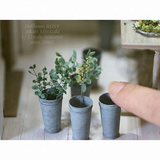 フラワーショップ(仮題)その後 | Pinterest | Tuto, Miniature et Fleur