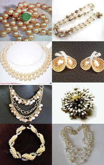 Pearls, Pretty Please by Darlene on Etsy--Pinned with TreasuryPin.com