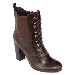 jcpenney.com | Liz Claiborne Lace-Up Leather Boots