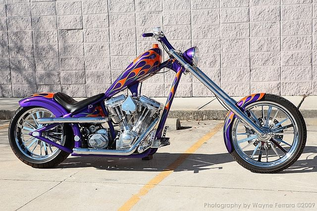 8bee44673c46 Jesse James jockey shift chopper. The inspiration for my first build ...