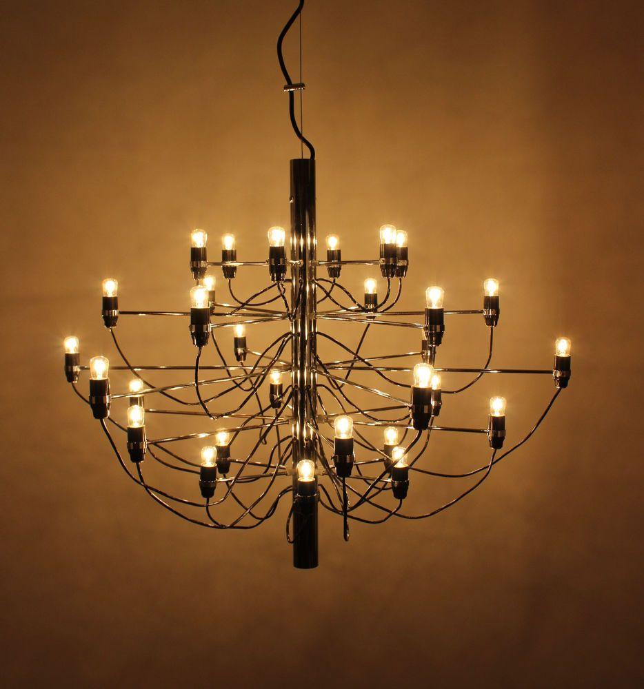 Early Arteluce 2097 30 Gino Sarfatti Design Lampe Chandelier Kronleuchter Italy Ebay Kronleuchter Kronleuchter Ideen Lampendesign