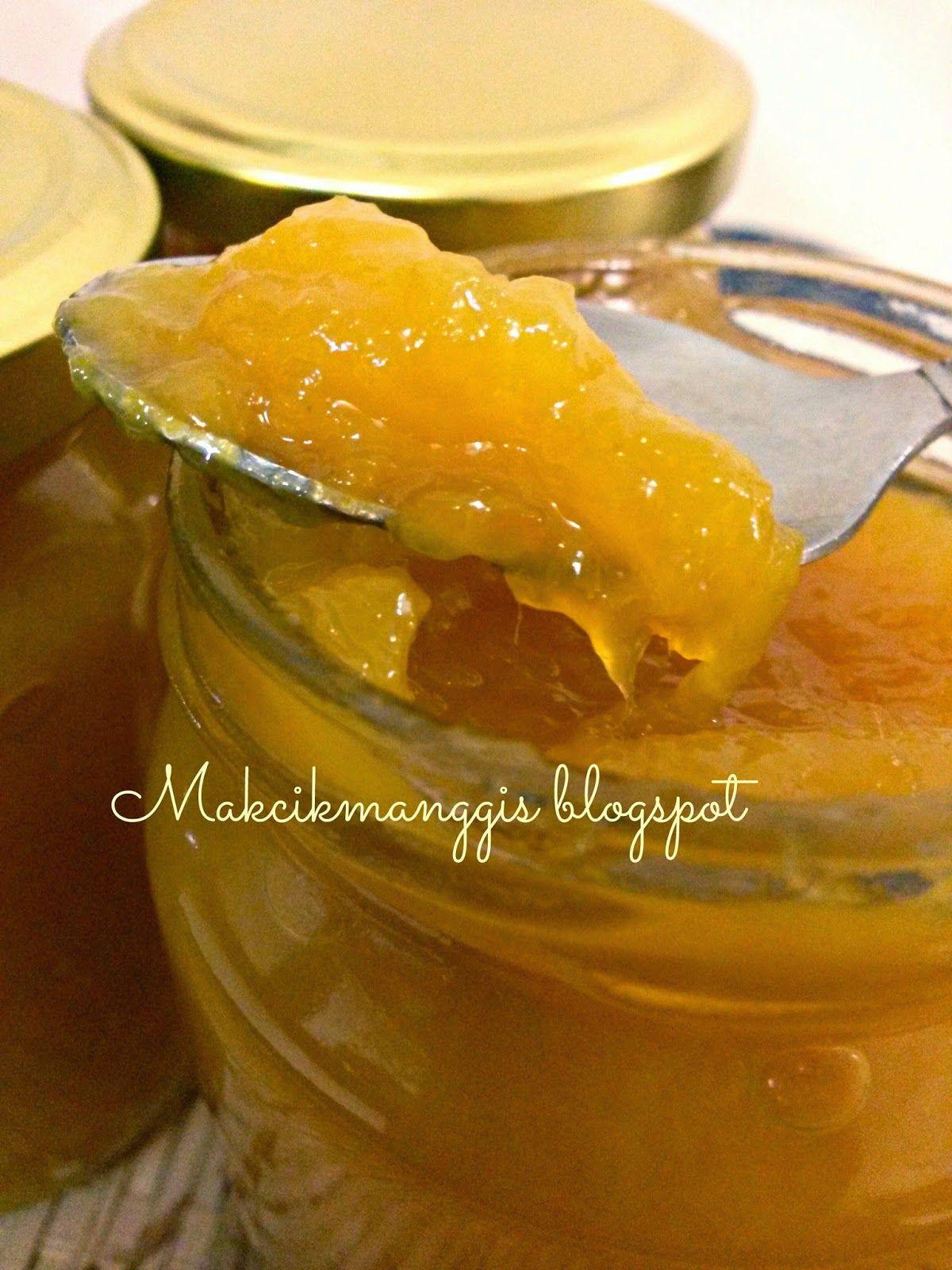 Jem Mangga Bahan Bahannya 1 Kg Mangga Yang Masak Ranum 3 X2f 4 Cawan Gula Pasir 1 Biji Jus Lemon 1 Cawan Air Cara Caranya Makanan