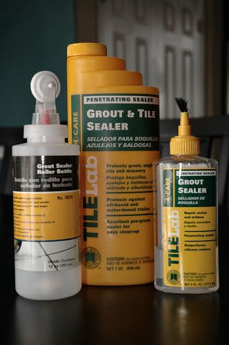 sealing grout cleaning tile floors