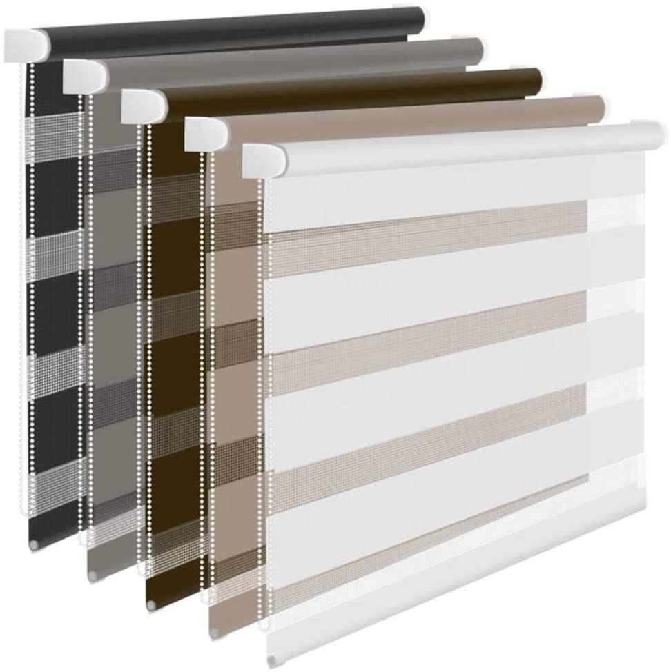 Foxx Doppelrollo Duo Rollo Klemmfix Ohne Bohren Weiss 50x140 Cm Fenster Sonnenschutz Außen Home Decor Decor Ebay