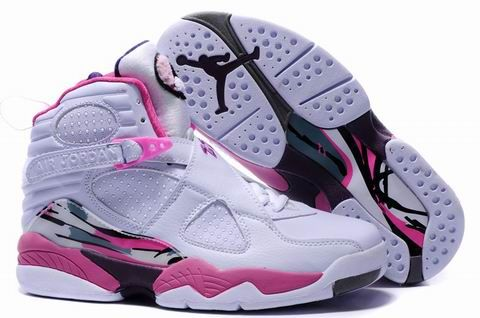 Latest Listing Discount Women Air Jordan 8 Shoes white/pink Newest Now