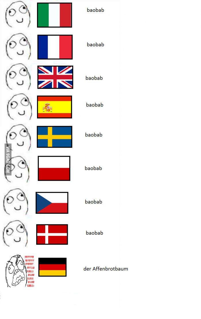 22 Beweise Dass Deutsch Die Schragste Sprache Der Welt Ist Language Jokes Stupid Memes Funny Memes