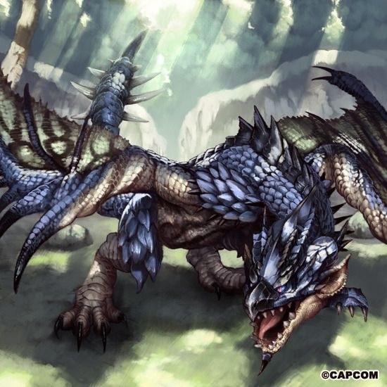 azure rathalos in sunlight from mhdude hosted by