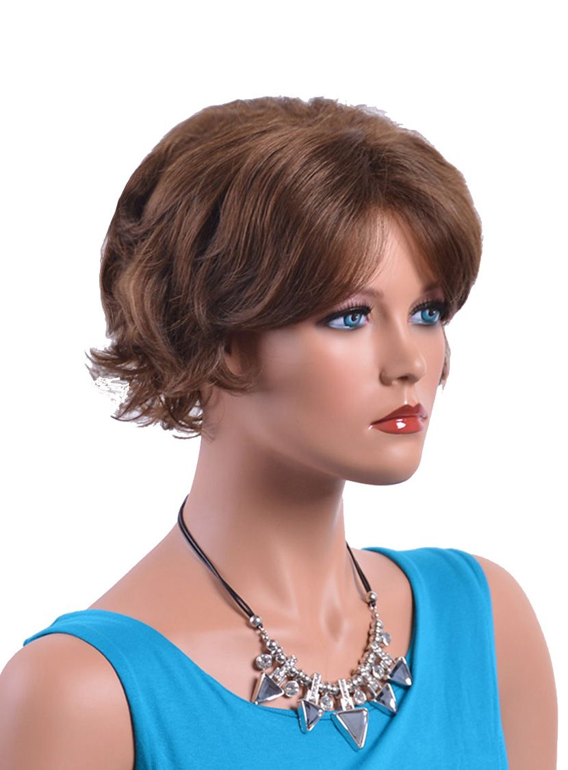 2019 new style amir hair short curly wigs for old women
