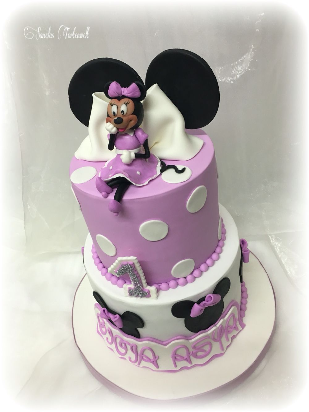 minnie mouse cake minnie mouse torte kindergeburtstags. Black Bedroom Furniture Sets. Home Design Ideas