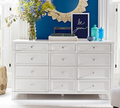 Clara Extra Wide Dresser Potterybarn Perfect Shape Size Of