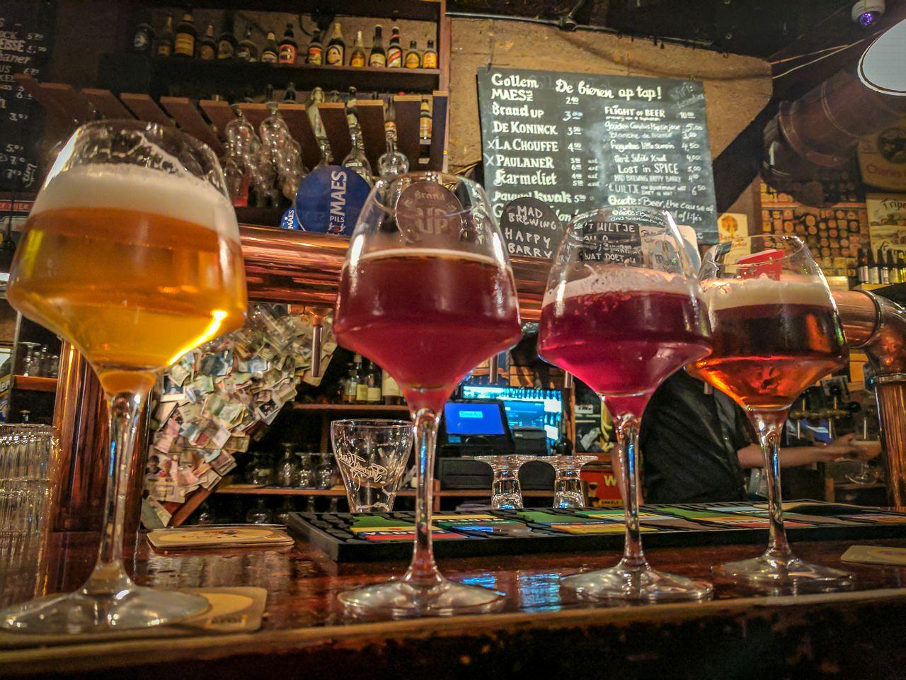 Top Craft Beer Spots In Amsterdam Murphysdoamsterdam Top Craft Beers Craft Beer Beer