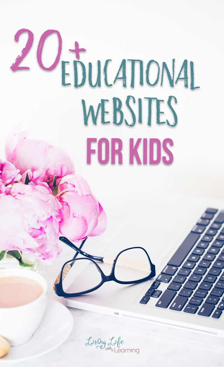 20+ Educational Websites for Kids
