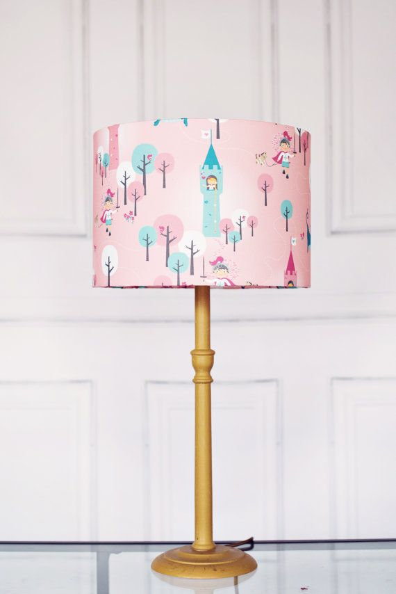 Bedside lamp girls bedroom lamp kids lamp fairy tales ...