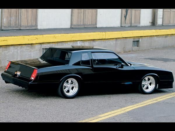 1983 chevy monte carlo ss -my favorite car over all others <3(monte