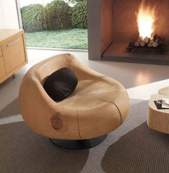 Funky Wooden Furniture By Riva