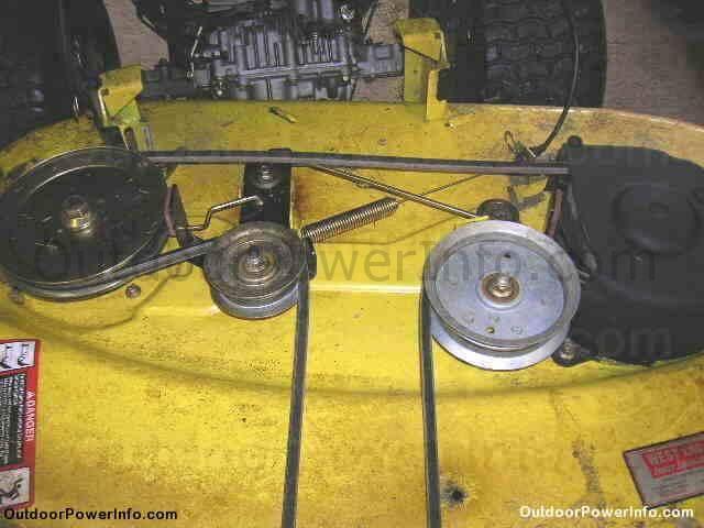 john deere tractor 100 series drive belts