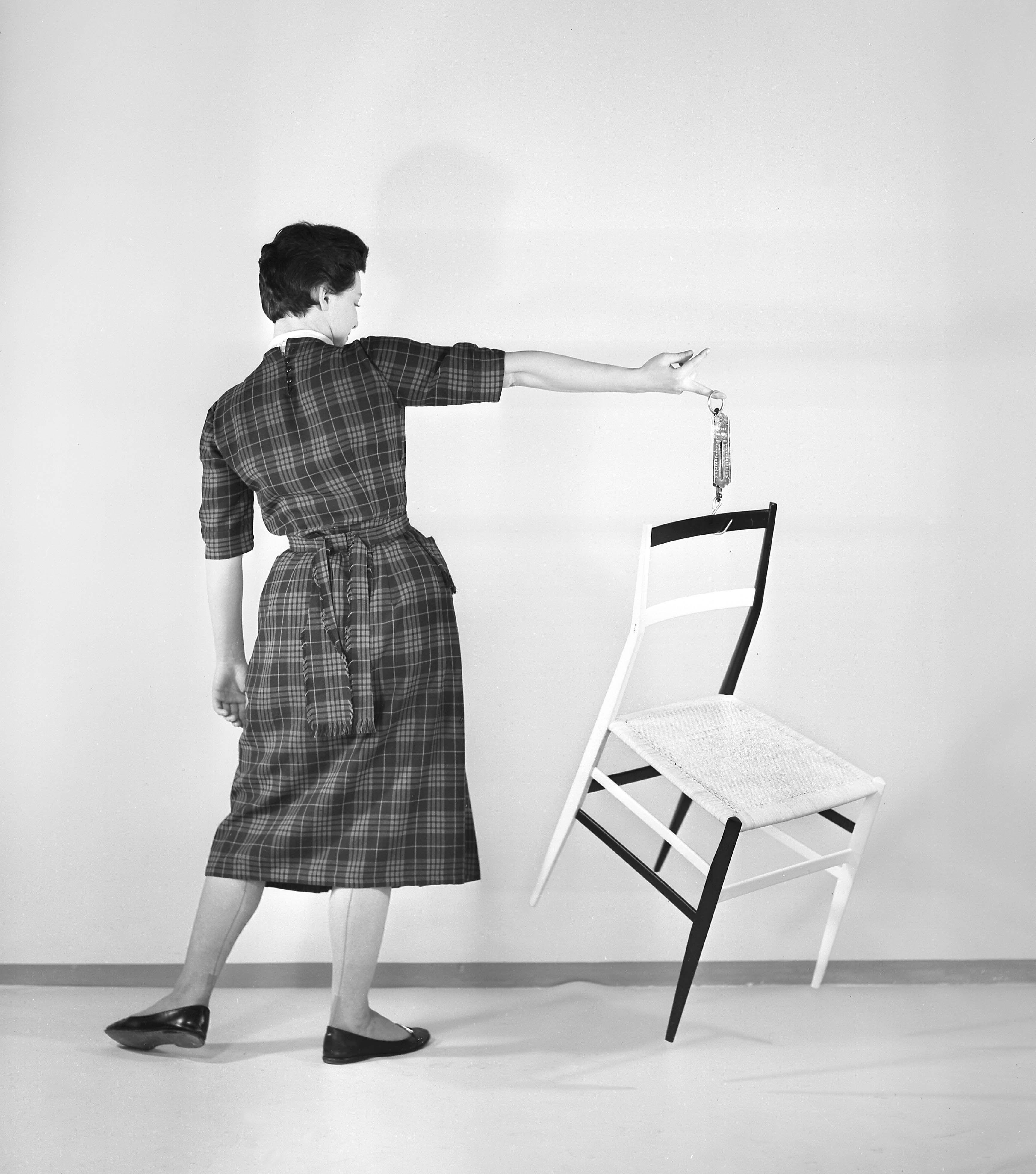 superleggera chair, designer gio ponti, 1952. manufactured