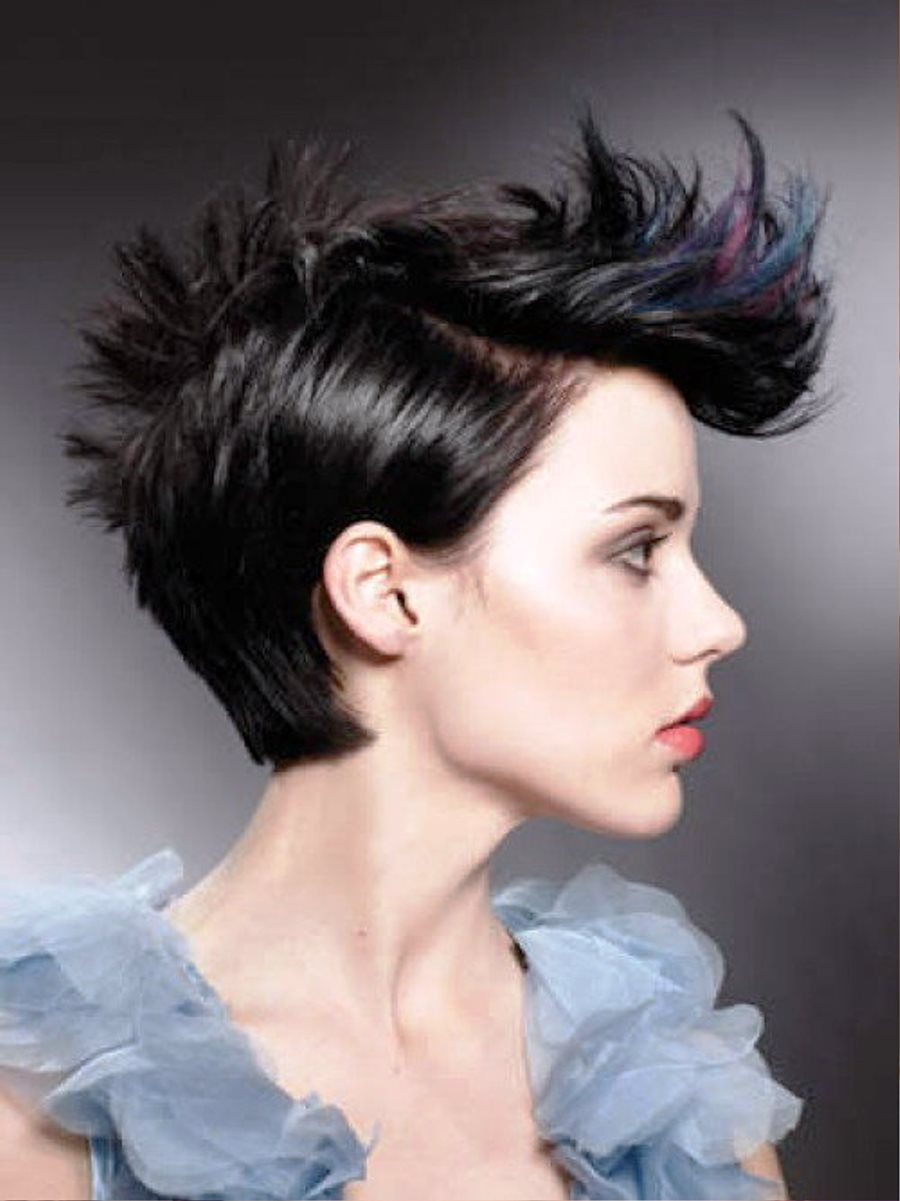 Elegant Punk Hair Style This Would Look Great For Men Or