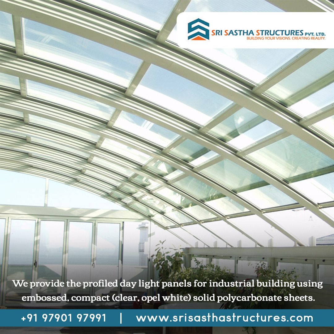 Polycarbonate Sheet Roofing Cool Roof Roofing Green Architecture