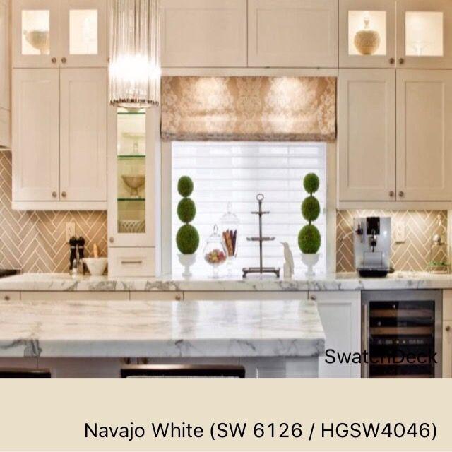 Navajo White Sw 6126 Hgsw4046 Sherwin Williams Swatchdeck Diy