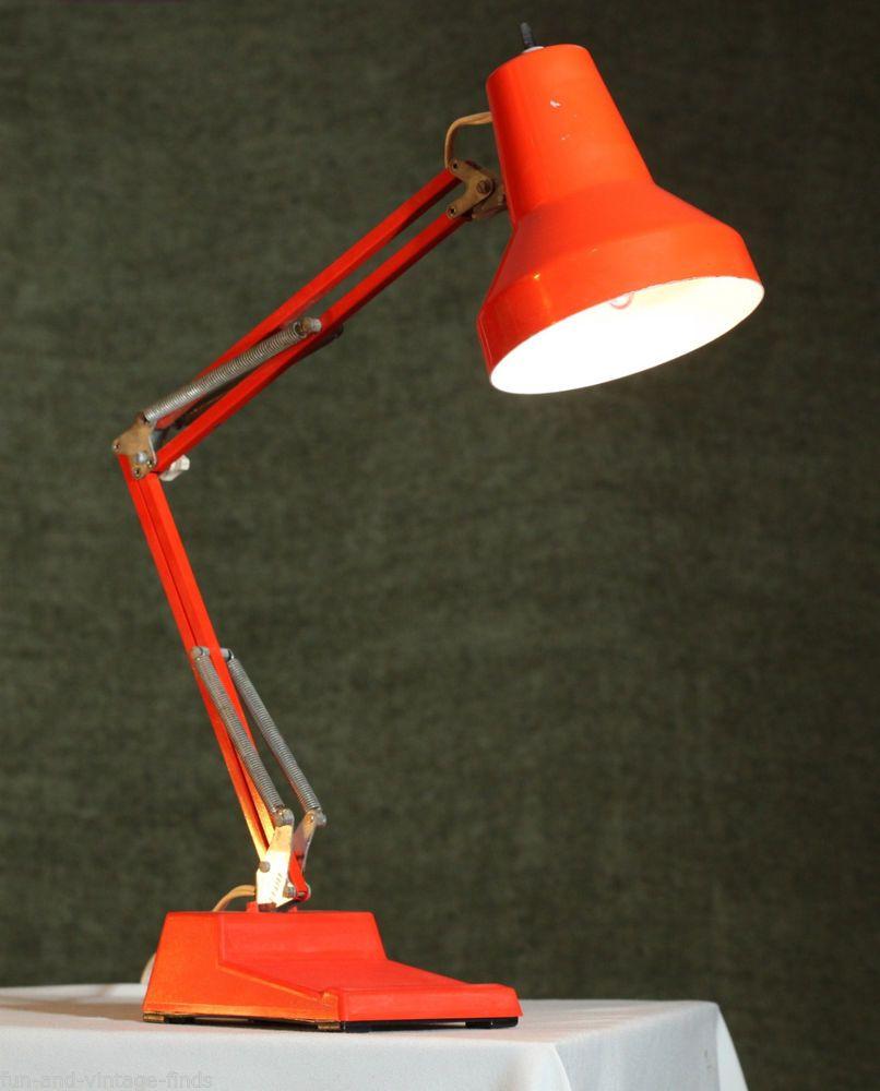 contemporary desk lamps office. wasomark ledu office articulating desk lamp metal mid century modern orange contemporary lamps c