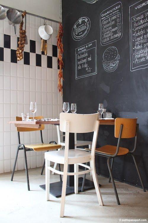 10 ideas para decorar una pared de pizarra os anim is - Pizarras para decorar ...
