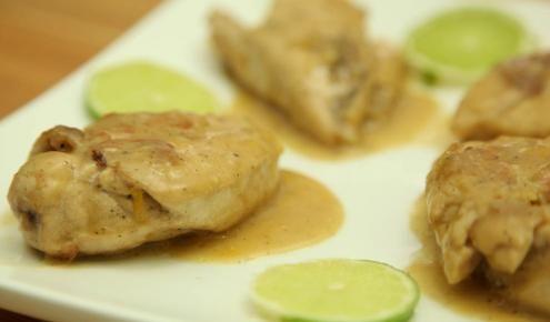 طريقة عمل وصفة صدور الدجاج المشوية بصلصة الليمون Recipes Food Dishes