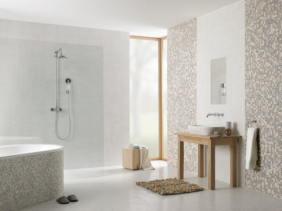 Highlands mosaik fliese von jasba bad in 2019 for Badezimmer bilder fliesen