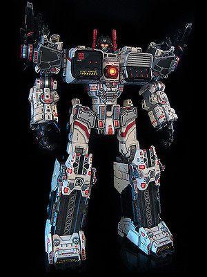 Custom Transformer Ultimate Metroplex Autobot City