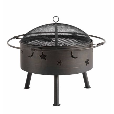 Living Accents® Moons & Stars Firepit - Ace Hardware - Living Accents® Moons & Stars Firepit - Ace Hardware Yard