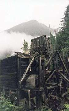 abandoned ghost towns or mines on vancouver island on