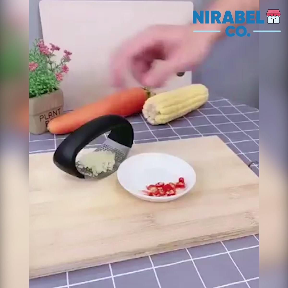The Incredible Garlic Press