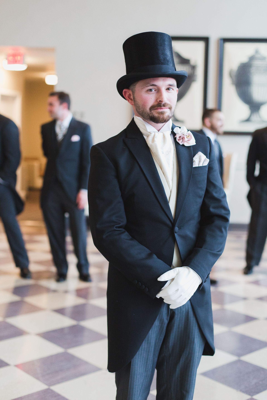 Whitetie wedding fashion, coat and tails, tuxedo, black